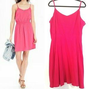 XXL OLD NAVY Fuchsia Pink The Cami Dress NWT